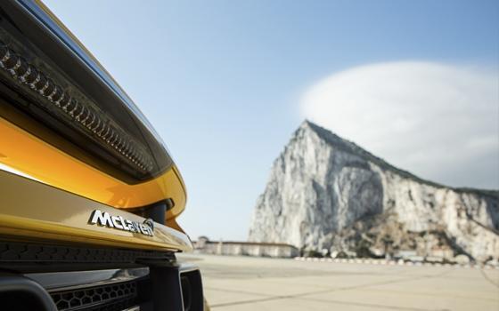 BBC Top Gear in Gibraltar