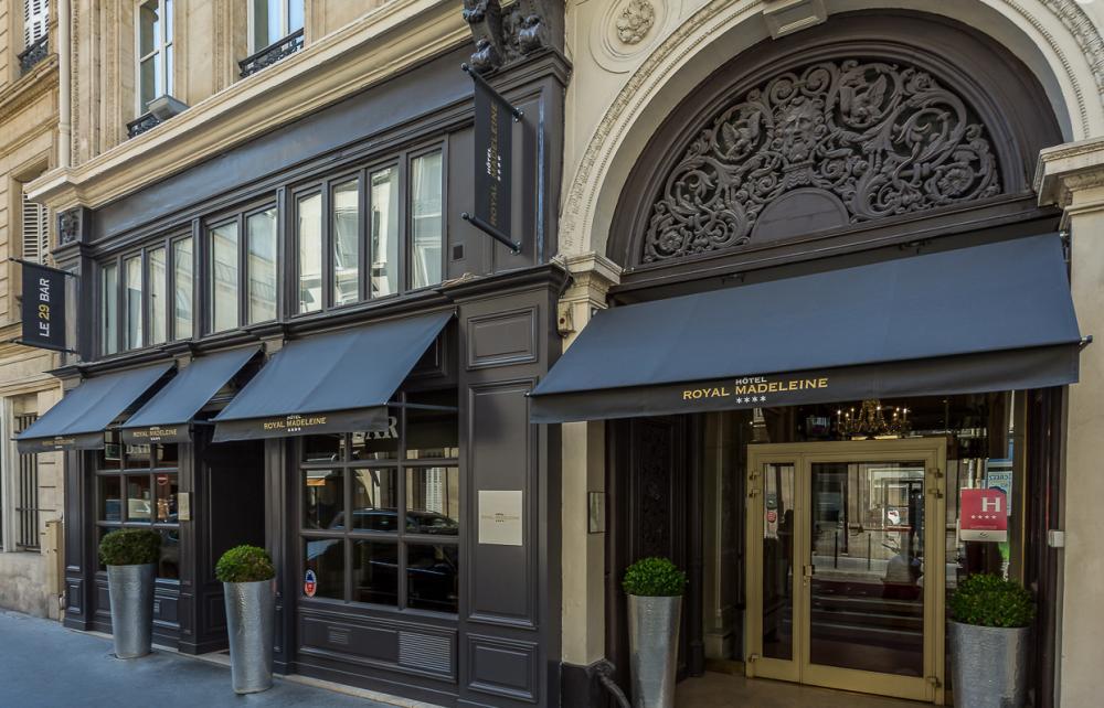 Royal Madeleine Hotel, Paris, France